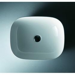 Lavabo Slim 50cm Ceramica design Moderno Litos-0014