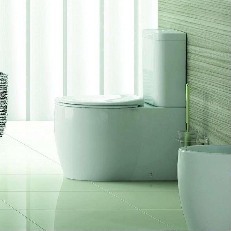 Vaso WC filomuro doppia uscita ceramica di alta qualità Alizee kamalu