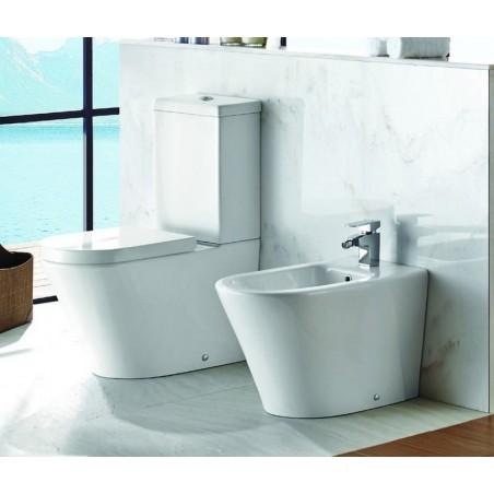 Sanitari filoparete linea moderna wc e bidet modello Klea-M