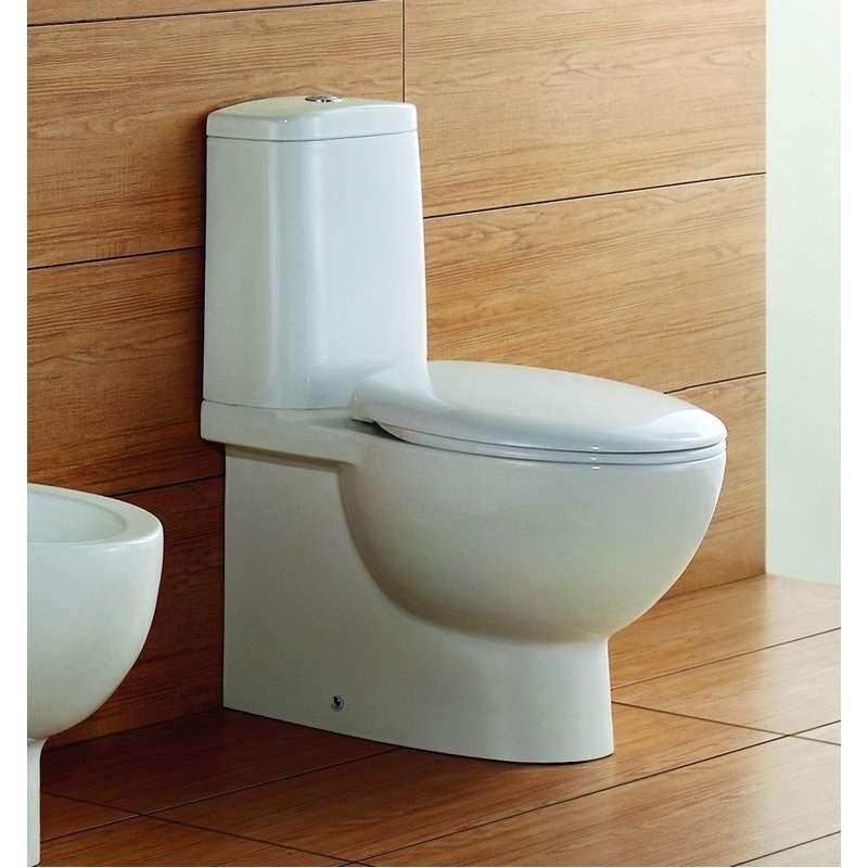 Vaso wc con cassetta in ceramica moderna linea modello Elis