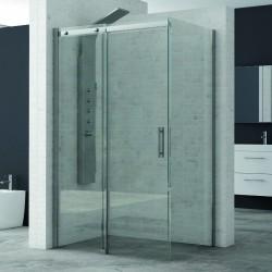 Box doccia porta scorrevole 110x80 cristallo 8mm K125