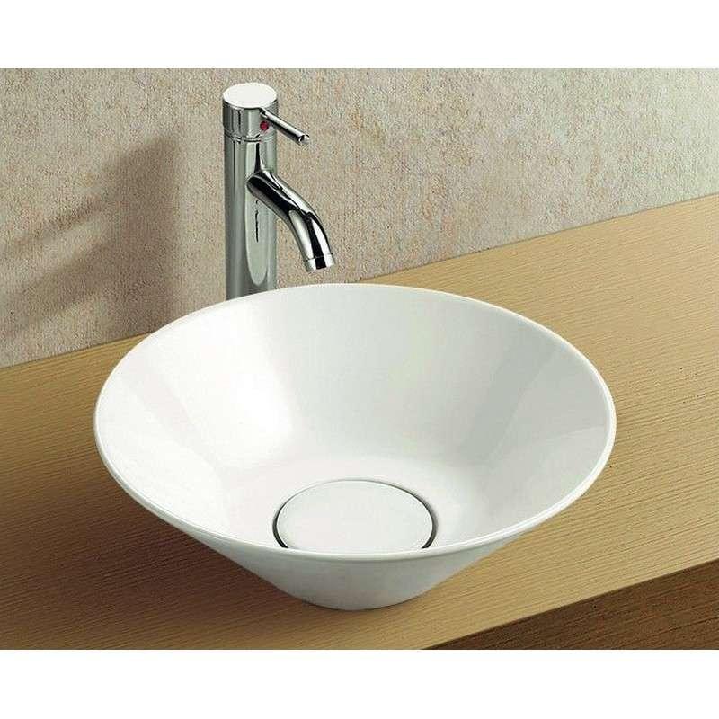 Lavandino bagno appoggio 42cm guarda prezzo online for Lavandino bagno moderno