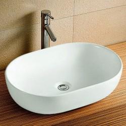 Lavabo appoggio bacinella 60cm Litos-600S