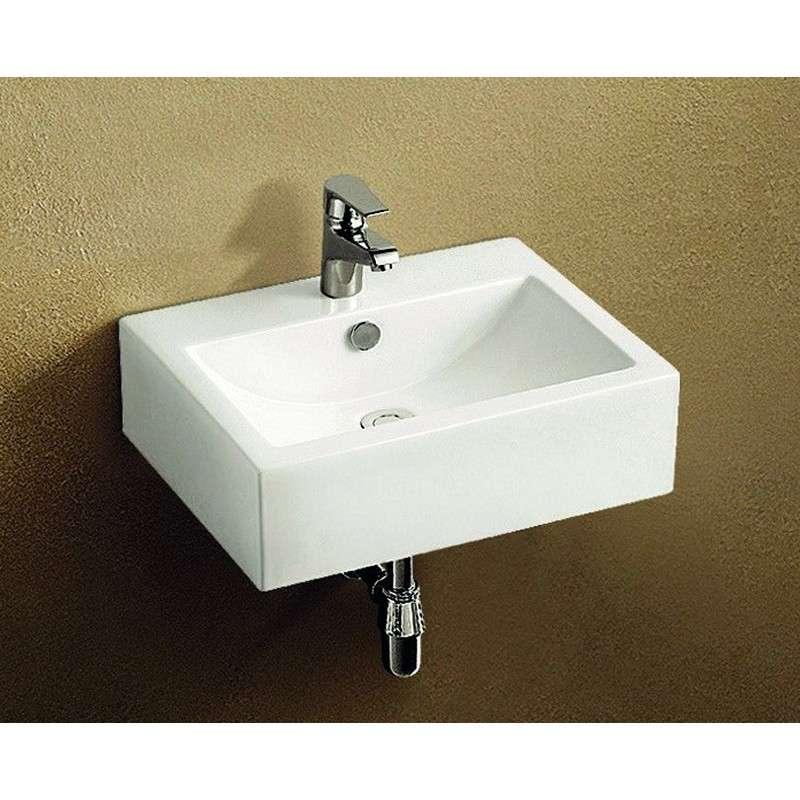 Lavabo sospeso bagno ceramica 51cm offerta - Lavabo bagno sospeso offerta ...