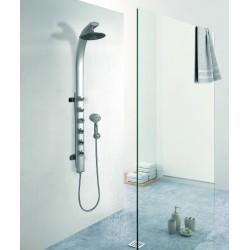 Colonna doccia idromassaggio design minimal modello Kaman-S75