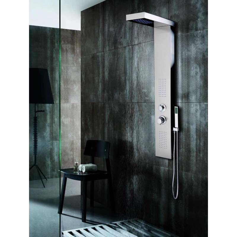 Colonna doccia idromassaggio in acciaio inossidabile kamalubagno