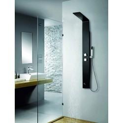 Colonna doccia idromassaggio in alluminio verniciato kamalubagno