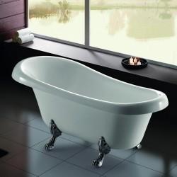 Vasca da bagno freestanding stile classico 165x75 modello K1700