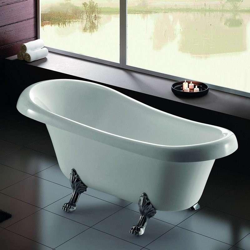 Vasca da bagno freestanding : Stile retro 165x75 | Kamalubagno