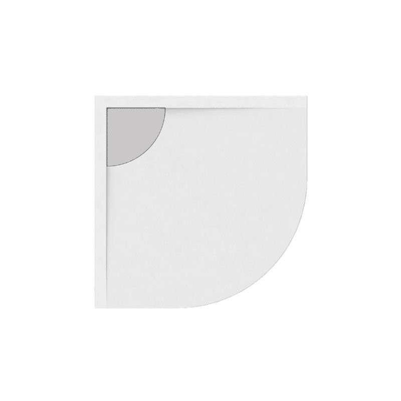 Piatto doccia 80x80 semicircolare kamalubagno