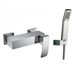 Miscelatore esterno doccia con doccetta modello Lison-DE