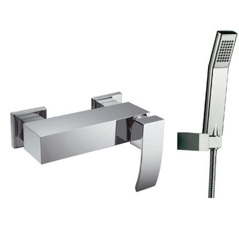 Miscelatore esterno doccia con doccetta modello Lison-DE kamalubagno
