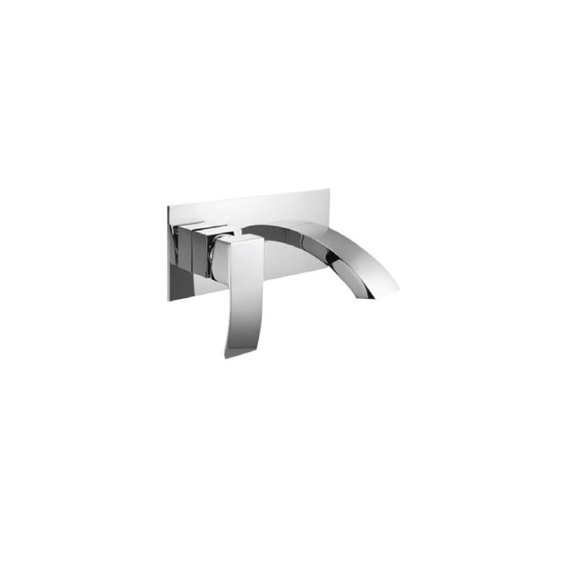 rubinetto a muro per lavabo Lison Kamalu