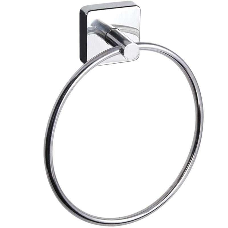 Portasciugamani anello in acciaio Kamalubagno.it