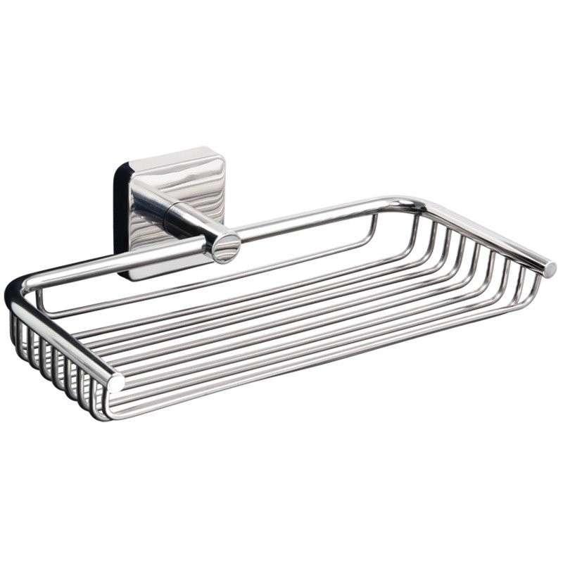 Portaoggetti doccia griglia in acciaio Kamalubagno.it