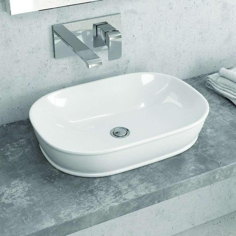 Lavabo da appoggio per il bagno offerte 3000 prodotti kamalubagno - Lavandino da appoggio bagno ...