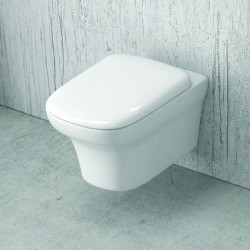 WC sospeso ceramica facile pulizia soft-close Elas-101S