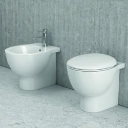 WC e bidet filo parete modello Elis-ST