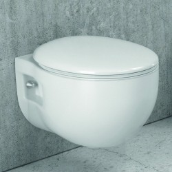 WC sospeso design moderno copriwater soft-close linea Elis