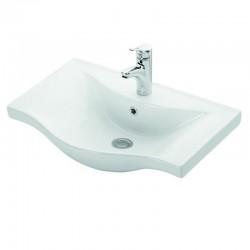 Lavandino sospeso 65cm ceramica bagno Litos-BS65
