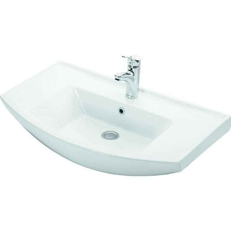 Lavabo bagno 80 cm sospeso Kamalu