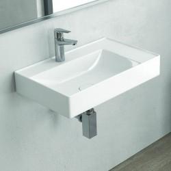 Lavandino bagno sospeso 60 cm Litos-NF60