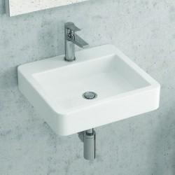lavabo sospeso economico 45cm modello Litos-540 kamalubagno