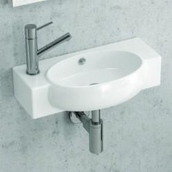 Lavabo sospeso 50cm per bagni piccoli modello Litos-550