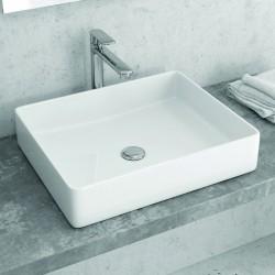 Lavabo soprapiano moderno 51x40cm ceramica Litos-0002