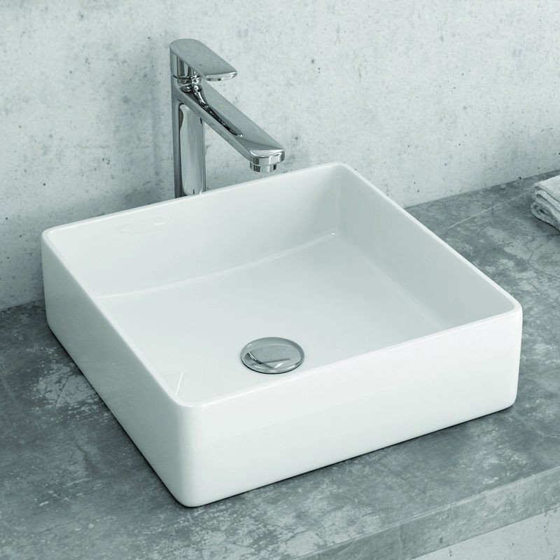 Lavabo bagno Quadrato 36cm Soprapiano Litos-0004