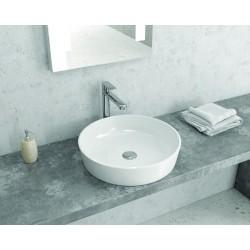 Lavabo da appoggio tondo 48cm ceramica Litos-0010