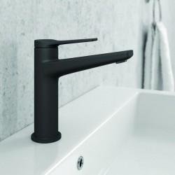 Rubinetto per lavabo colore nero modello Nico-160LD