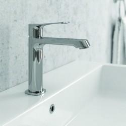 Rubinetto per lavabo bagno design moderno modello Real-820L