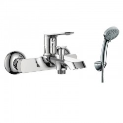 Miscelatore vasca bagno con doccetta bagno moderno modello Real-820V