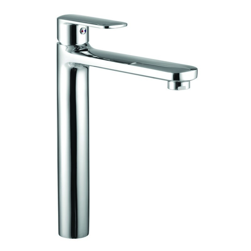 miscelatore lavabo alto design Kamalu Lara