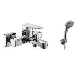 Miscelatore per vasca da bagno con doccetta modello Kalas-VE