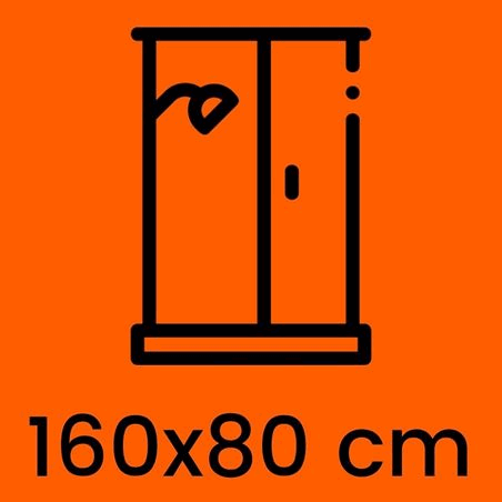 Box doccia 160x80 cm