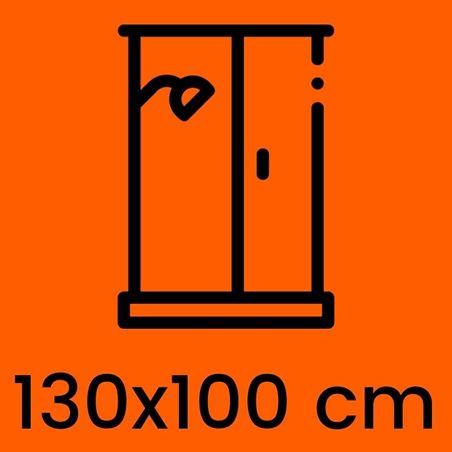 Box Doccia 130x100 cm. Prezzi e offerte   Kamalubagno.it