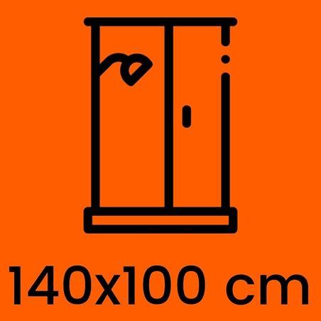 Box doccia 140x100 cm in offerta | Kamalubagno.it