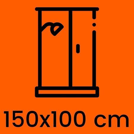 Box doccia 150x100 cm offerte e prezzi | Kamalubagno.it